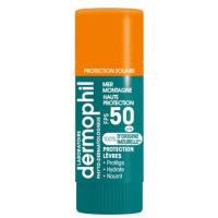 Dermophil Stick à lèvres protection solaire FPS 50 naturel