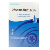 Désomédine 0,1% Collyre Antiseptique 10x0.6ml flacons multidoses BAUSCH AND LOMB
