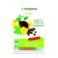 Détox Bio d' Arkofluides 20 ampoules