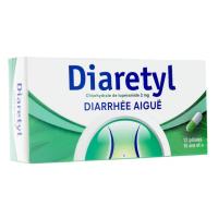 Diaretyl 2 mg Diarrhée Aiguë
