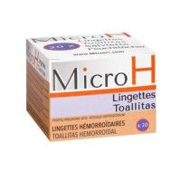 Diepharmex - Micro Lingettes Hémorroïdaires - boite de 20