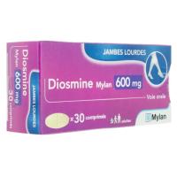 Diosmine Mylan 600mg