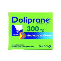Doliprane  300mg 12 sachets dose