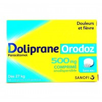 Doliprane Orodoz 500 mg comprimés orodispersibles