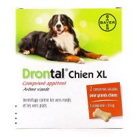 Drontal Vermifuge Chien XL Arôme Viande