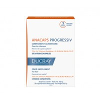 Ducray Anacaps Progressiv 3x30 gélules