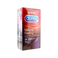 Durex - Natural sensation extra lubrifie - Boîte de 10