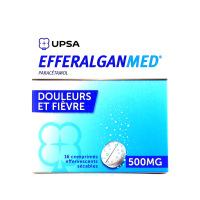 Efferalgan 500 mg 16 comprimés effervescents sécables
