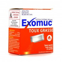 Exomuc Toux Grasse sachets