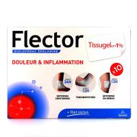 Flector Tissugel EP 1% 10 emplâtres