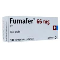 Fumafer 66 mg 100 comprimés