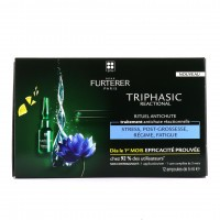 Furterer Triphasic Reactional 12 ampoules de 5 ml