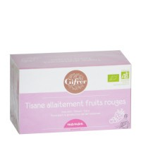 GIFRER Tisane allaitement Fruits rouges 20 sachets