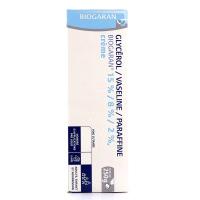Glycérol Vaseline Paraffine crème 250 g Biogaran