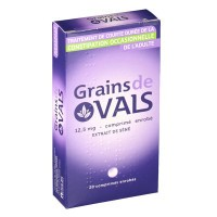 Grains de Vals constipation occasionnelle 20 comprimés