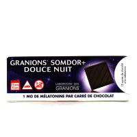 Granions Somdor+ douce nuit 15 carrés de chocolat
