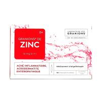 Granions zinc 30 ampoules