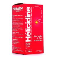 Hélicidine sans sucre sirop à 10% 250ml
