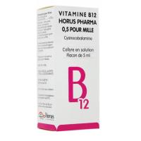 Horus Pharma Vitamine B12 Collyre 0,5 pour mille
