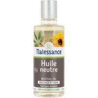 Huile neutre Bio massage et soin 100 ml