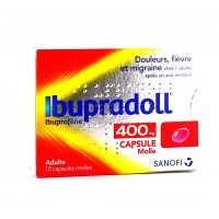 Ibupradoll 400 mg 10 capsules