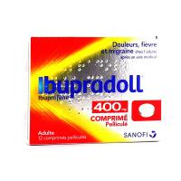 Ibupradoll 400 mg 12 comprimés