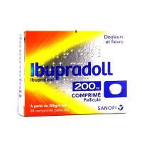 Ibupradoll Ibuprofène 200mg Comprimé Pelliculé