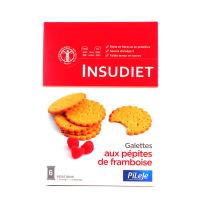INSUDIET Galettes pépites à la Framboise 6 portions