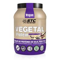 Vegetal protein - Isolats de protéines 100% végétales chocolat - 750g - STC