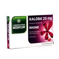 Kaloba 20 mg Rhume 21 comprimés