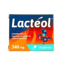 Lactéol 10 gélules 340 mg