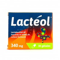Lacteol 340mg 30 gélules