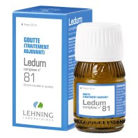 Lehning Ledum Complexe 81 Solution buvable en gouttes 30 ml
