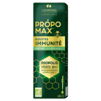 Lehning Propomax Immunité Prépare les Défenses Extrait de Propolis BIO
