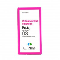 Lehning Rubia Complexe 3 Solution buvable en gouttes 30 ml