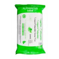 Lingettes bébé nettoyante ecologiques biodégradables
