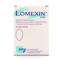 Lomexin 600mg capsule vaginale