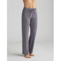 Long Pants Bleu foncé / blanc AMOENA Home 44299
