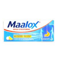 Maalox comprimés à croquer 40
