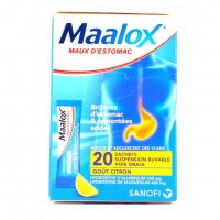 Maalox suspension buvable 20 sachets