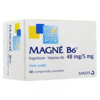 Magné B6 48mg / 5mg Boite de 50 comprimés