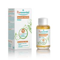 Massage ventre huile 15 Huiles Essentielles