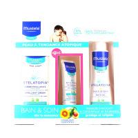 Mustela coffret bain et soin peau à tendance atopique