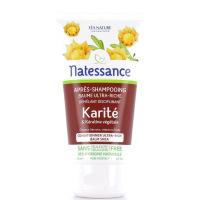 NATESSANCE Après-Shampooing Baume Ultra-Riche Karité 150ml