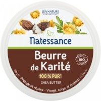 Natessance beurre de Karité Bio Protège et Répare en 100g