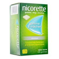 Nicorette 4 mg 105 Gommes  sans sucre
