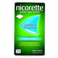 Nicorette menthe glaciale gommes 2 mg sans sucre