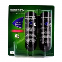 Nicorette Spray Fruit Rouge 2 Sprays