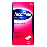 Nicotinell fruit exotique 2 mg gommes