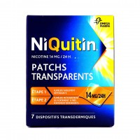 Niquitin 14 mg/24h 7 patchs